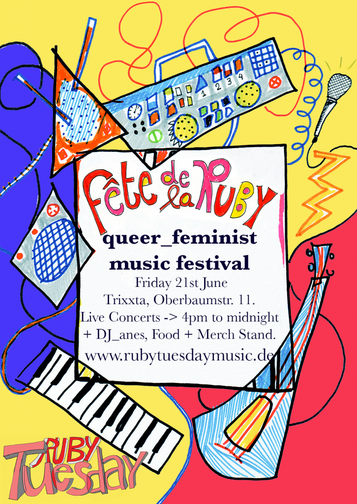 Ruby Tuesday, girls rock, girls rock berlin, transgender berlin, queer feminism berlin, queer_feministisch berlin, queer musik, feministische musik,